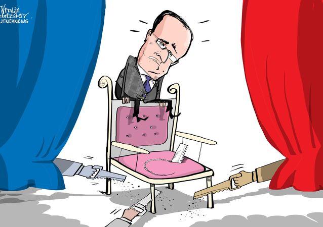 LR: le président Hollande est «indigne d'exercer sa fonction»