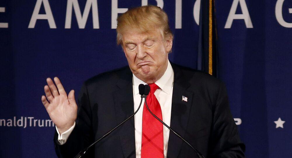 Le président US élu Donald Trump