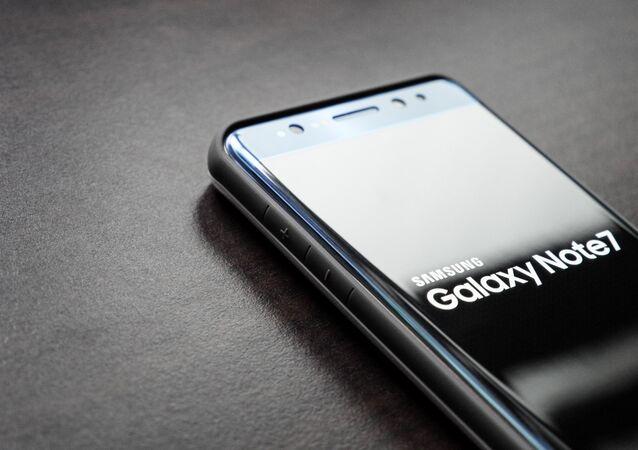 Un Samsung Galaxy Note 7
