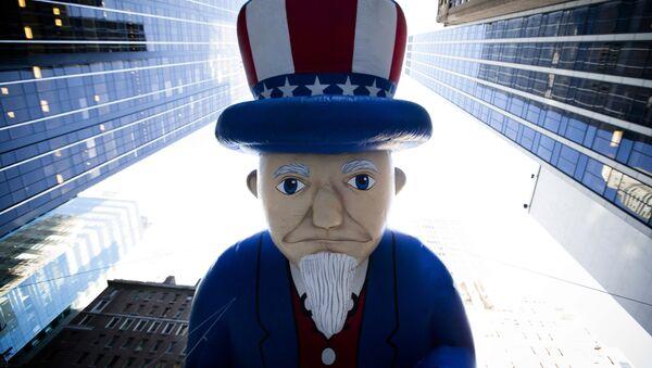 Uncle Sam in der Wall Street - Sputnik France