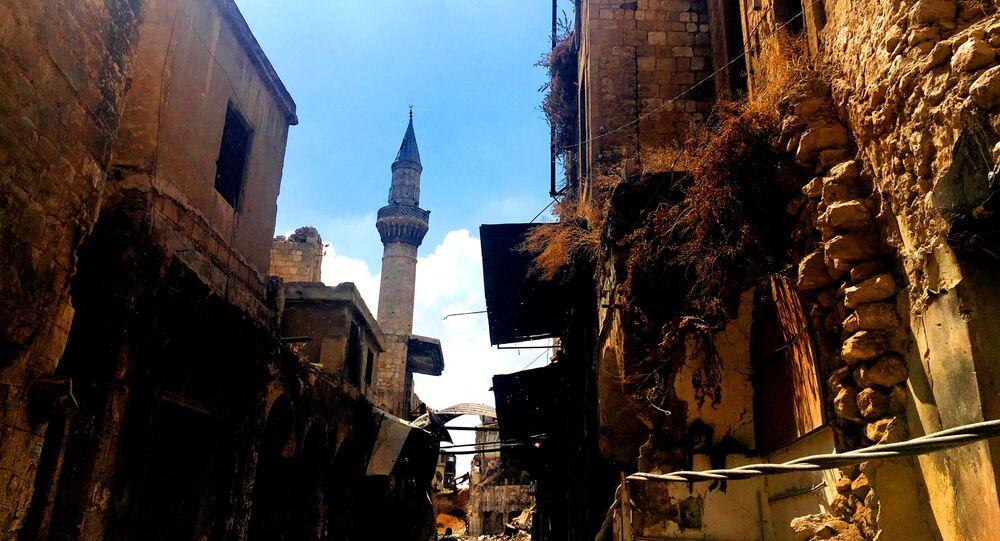 Alt-Stadt von Aleppo. Syrien