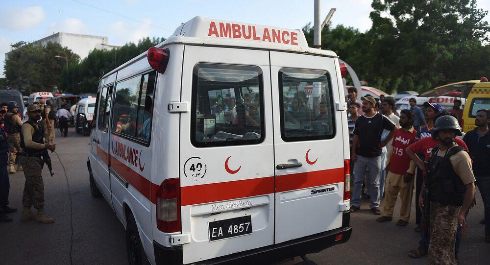 Une ambulance pakistanaise