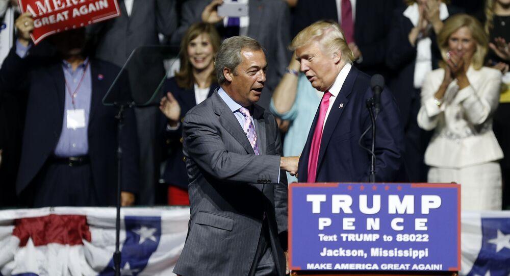 Donald Trump et Nigel Farage