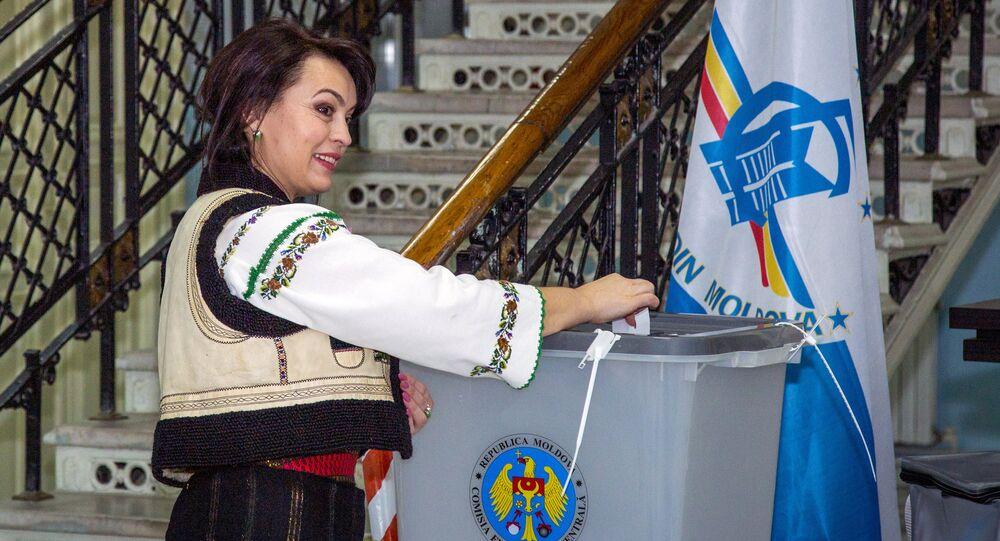 Les élections présidentielles en Moldavie