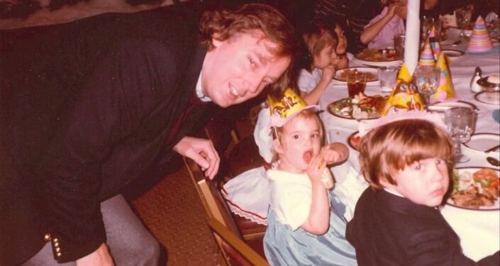 Donald Trump et ses enfants