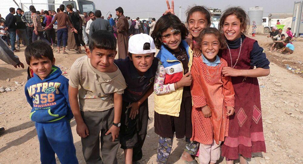 Enfant irakien (image d'illustration)