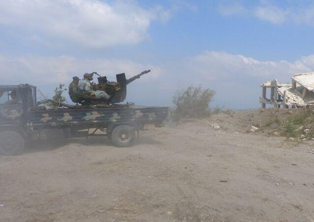L'armée syrienne détruit un dépôt d'armes terroriste à Alep