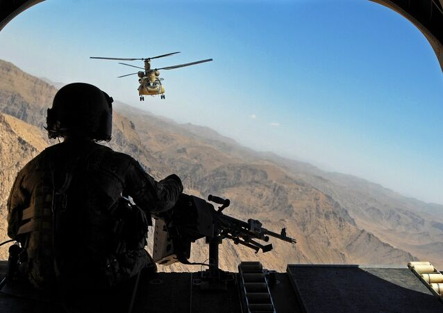 Soldat américain en Afghanistan. Image d'illustration
