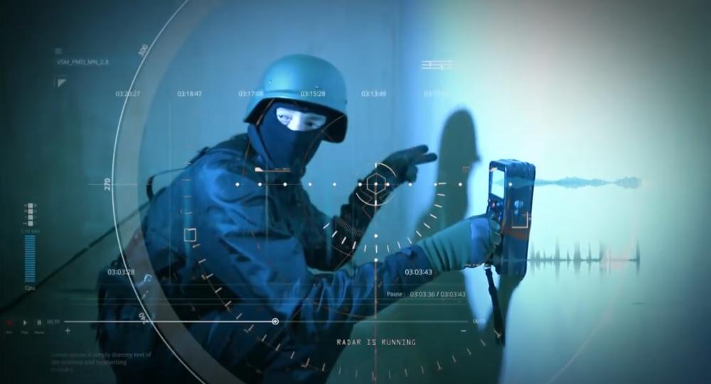 Le radar dernier cri l'armée russe verra des ennemies à travers les murs