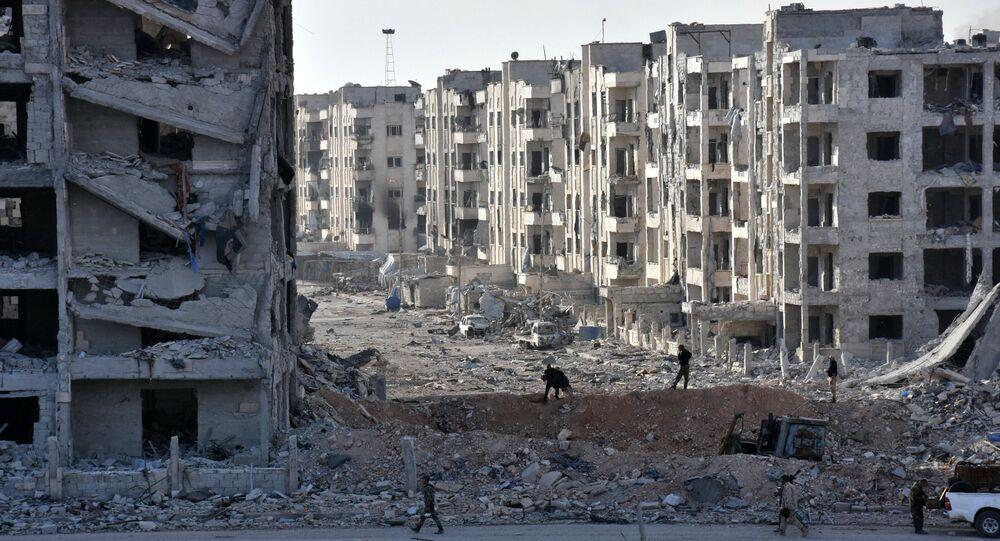 Les manifestants mitraillés par les terroristes à Alep, des dizaines de victimes