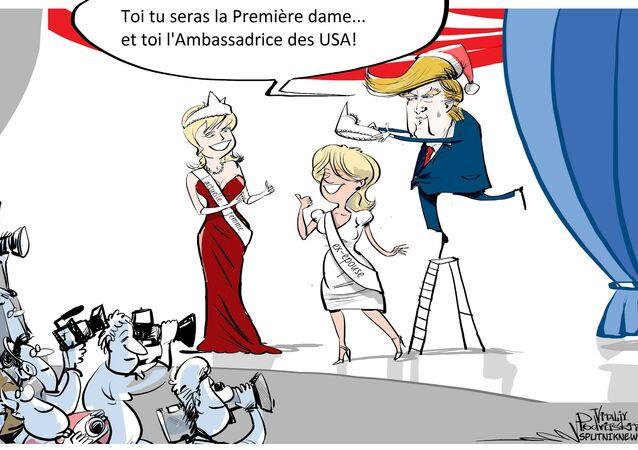 Ivana Trump ambassadrice à Prague?