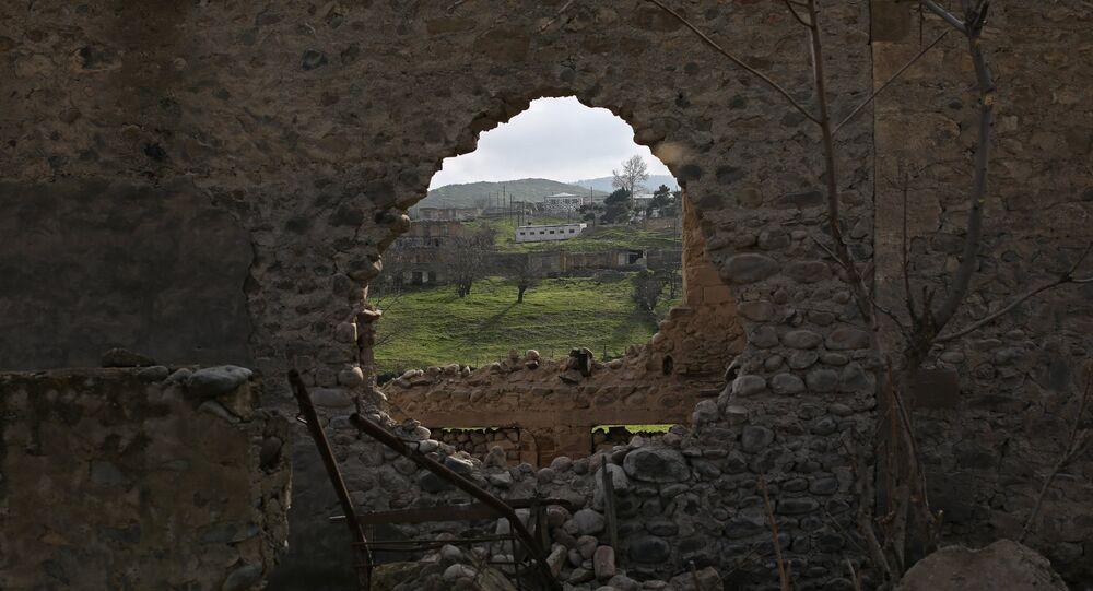 le Haut-Karabagh, image d'archives
