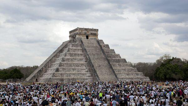 Sur le site archéologique de Chichen Itza dans la péninsule du Yucatan - Sputnik France