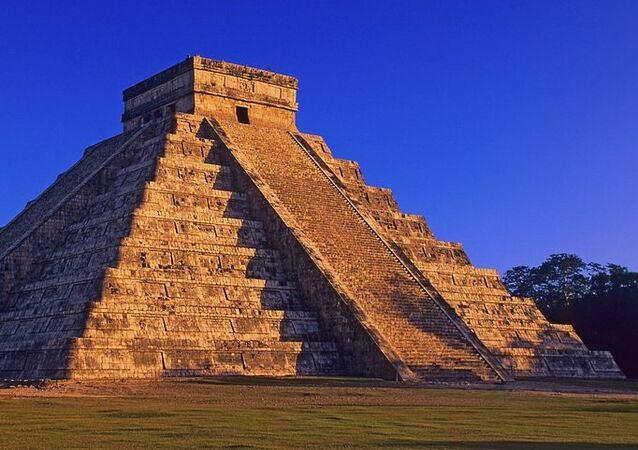La pirámide de Kukulkan au Mexique