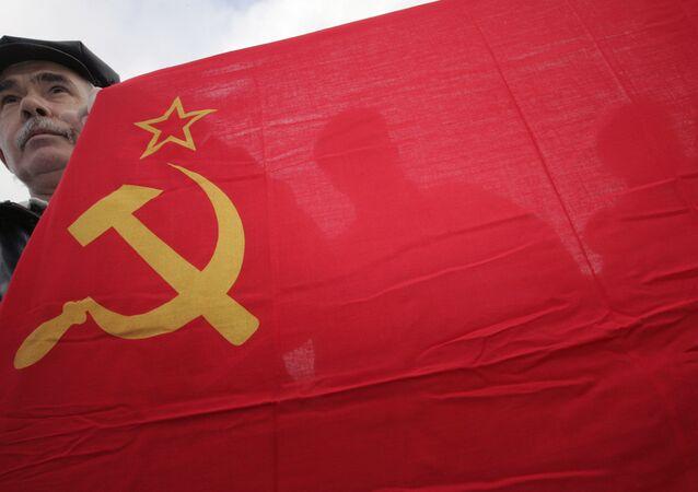 drapeau soviétique