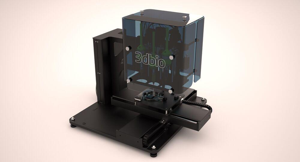 Imprimante 3D bio russe