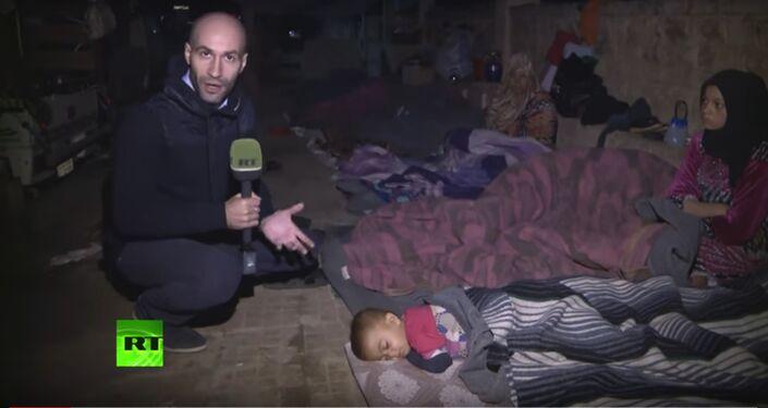 Ces petits réfugiés subissent la famine et dorment dans les rues
