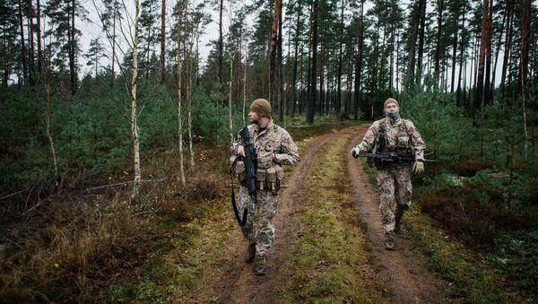 Des soldats lettons - Sputnik France