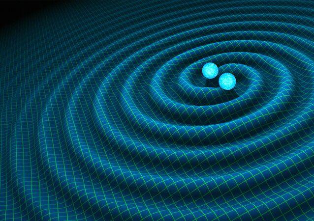 Deux étoiles à neutrones