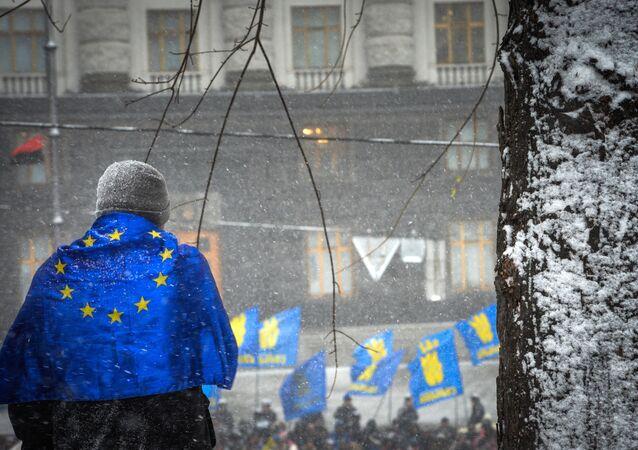 Contestation pro-européenne à Kiev