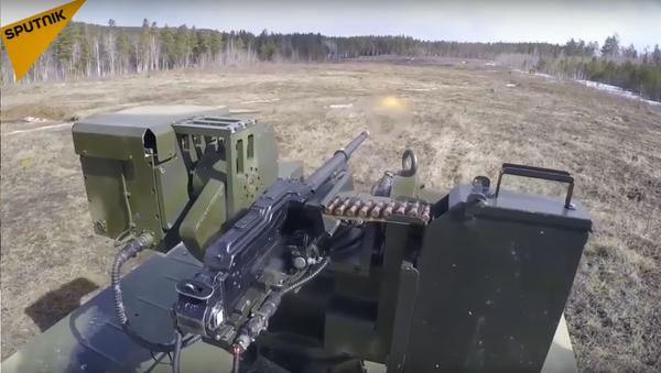 Un nouveau système robotique de sécurité de lance-missiles testé en Russie - Sputnik France
