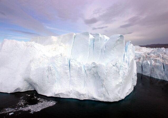 Des glaciers de Groenland