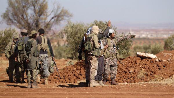 Les rebelles syriens aux environs d'Al-Bab - Sputnik France
