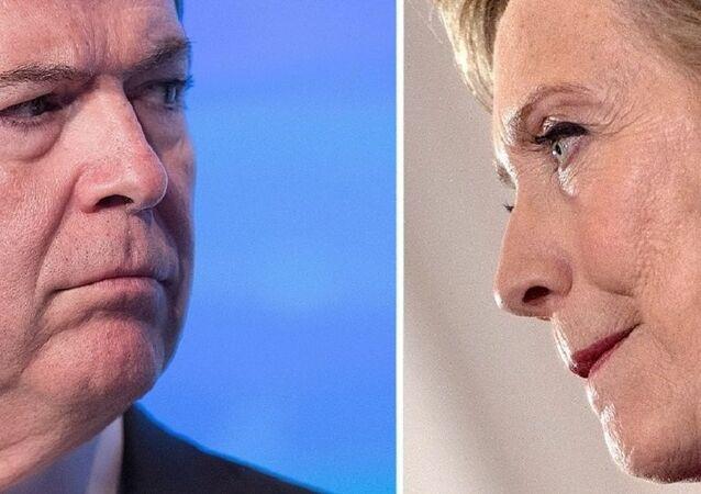 James Comey / Hillary Clinton