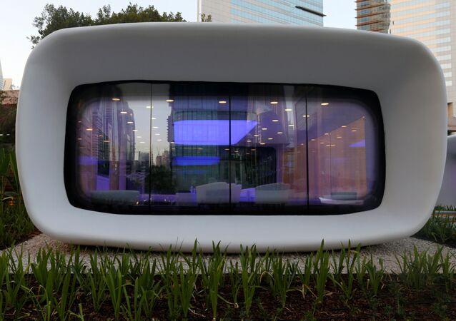 Bâtiment 3D à Dubaï