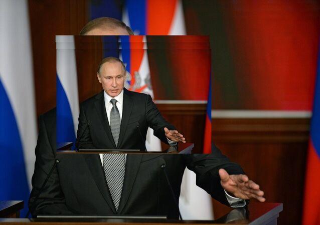 Le président russe Vladimir Poutine, 11 décembre 2015