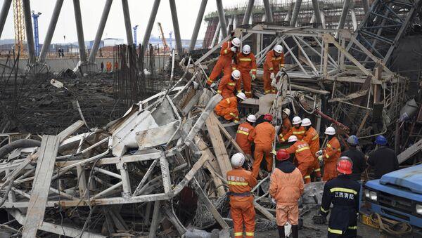 Chine: effondrement d'une tour sur une centrale électrique, au moins 40 morts - Sputnik France