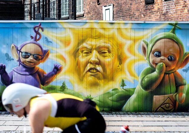 graffiti Trump