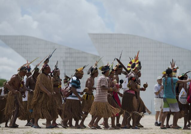 Les indiens brésiliens