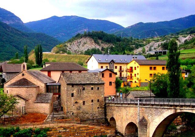le village en Espagne