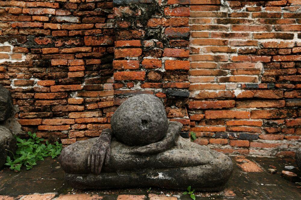 Les ruines sacrées d'Ayutthaya