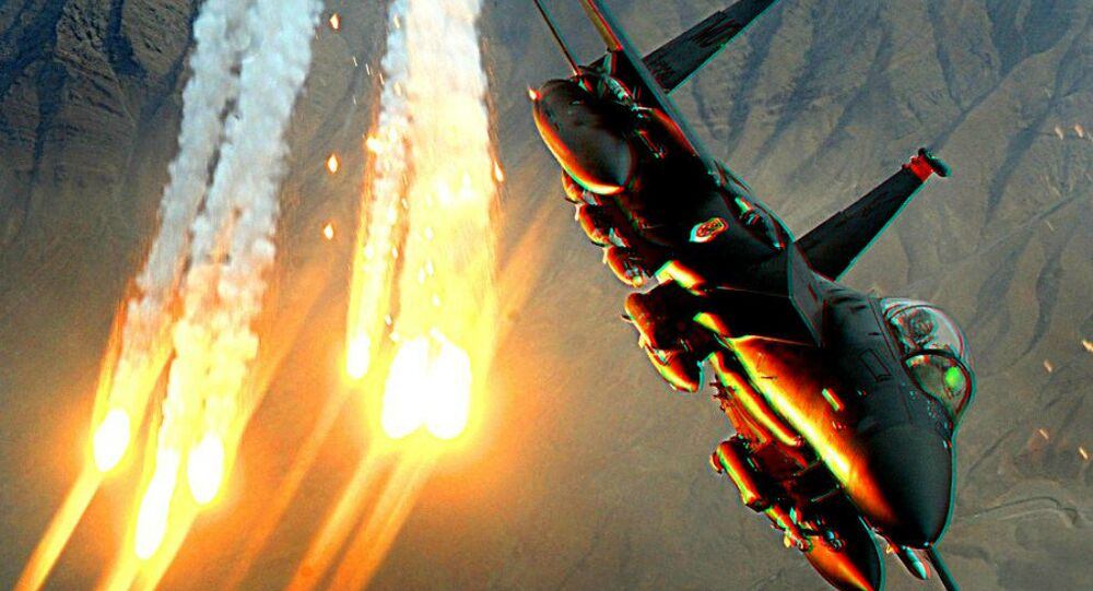 Un chasseur F-15