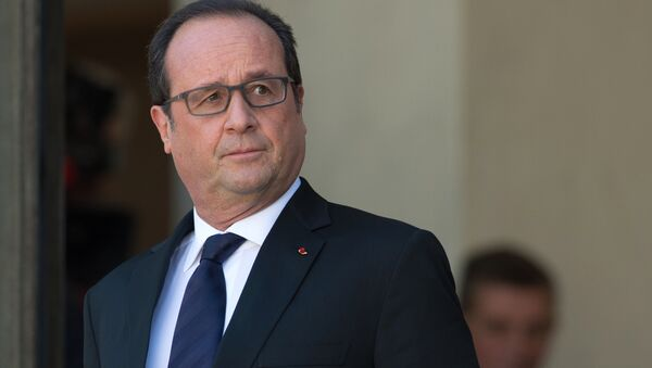 François Hollande - Sputnik France