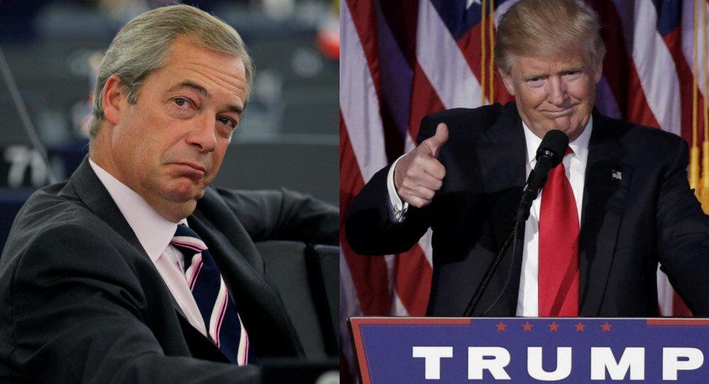 Nigel Farage et Donald Trump