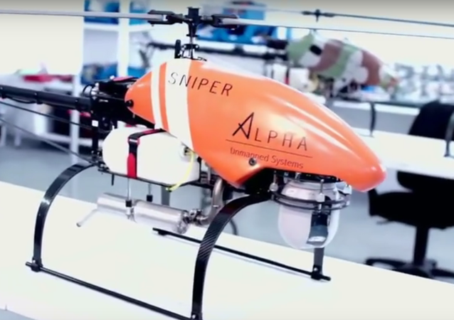 Un drone Sniper d'Alpha Unmanned Systems