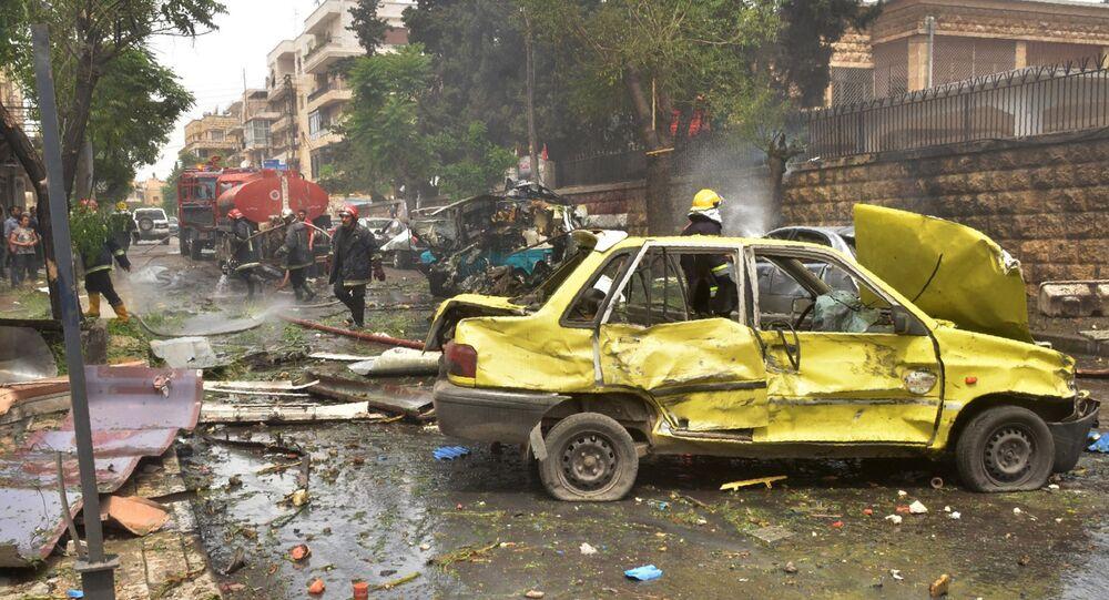 La ville d'Alep