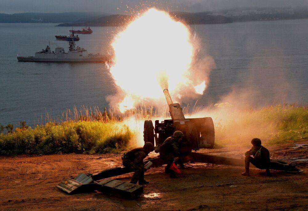 Cette «Mort Noire» qui protège la Russie: la Journée de l'infanterie de marine