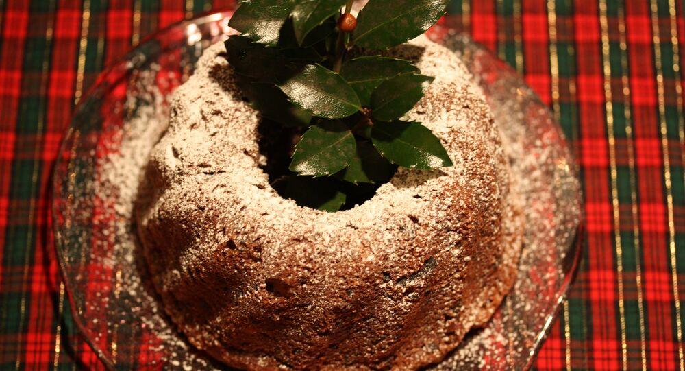 Un pudding de Noël