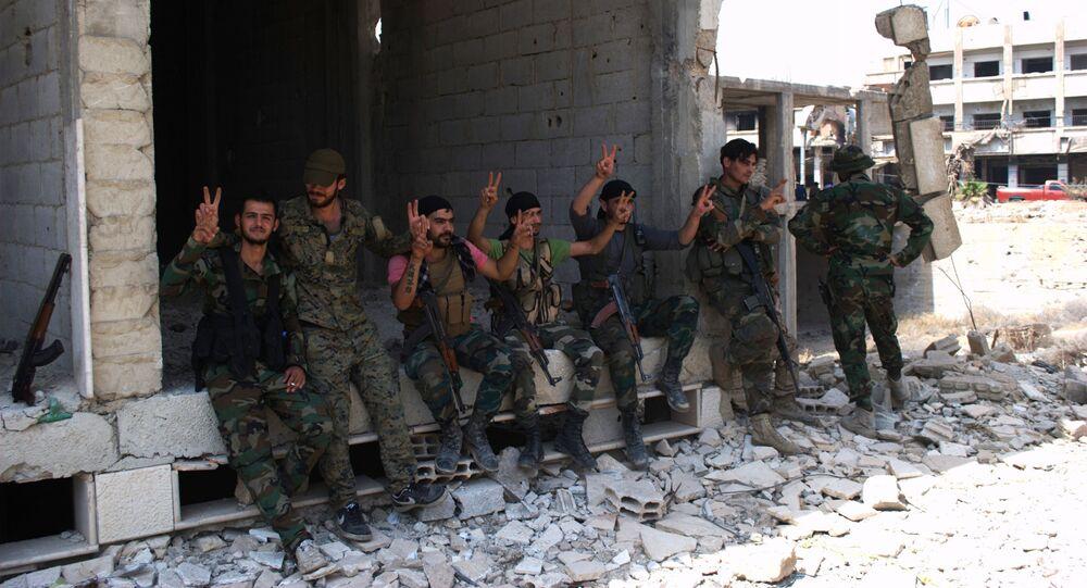 soldats, Alep