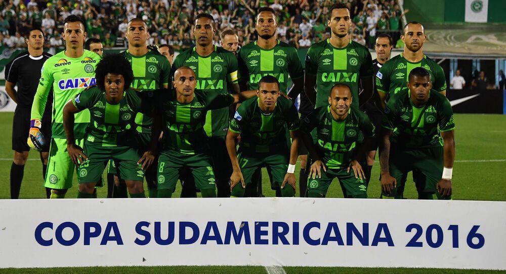 Une équipe de football brésilienne
