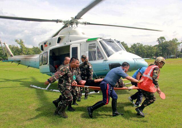 Des terroristes tentent de tuer le président philippin