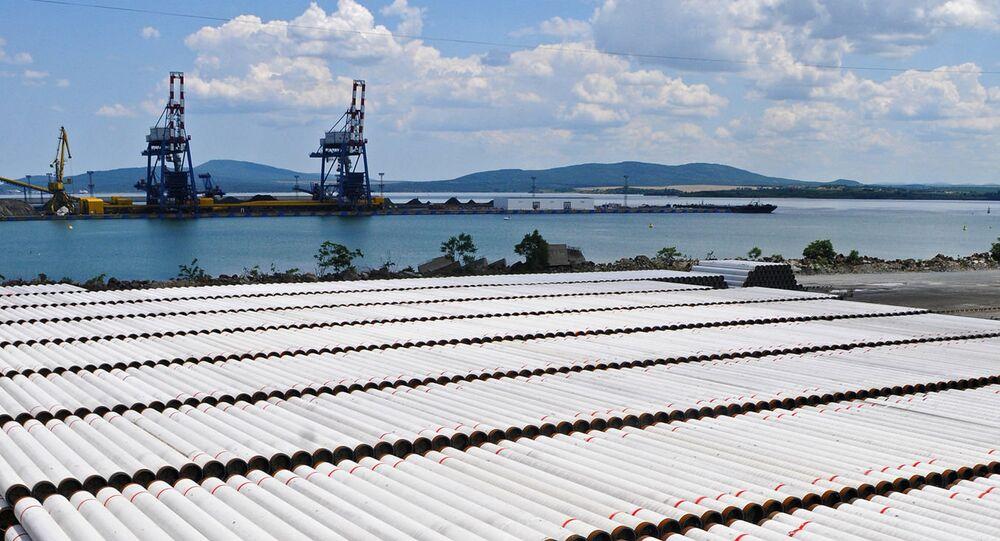 Gazprom est sur le point de démarrer la construction du segment maritime du Turkish Stream