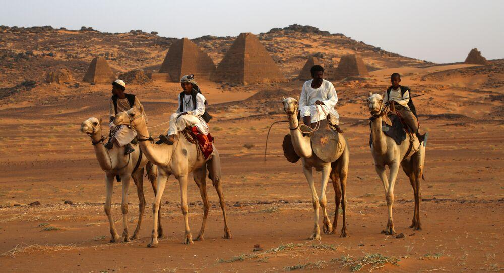 Les pyramides au Soudan
