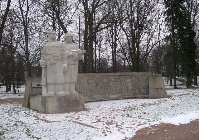 monument de la Victoire en Pologne, image d`illustration