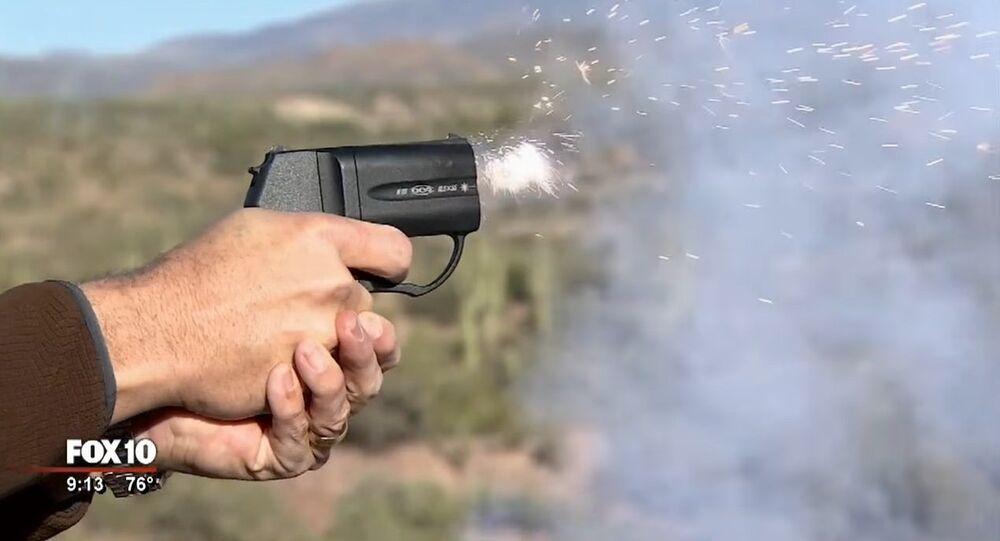 des pistolets russes