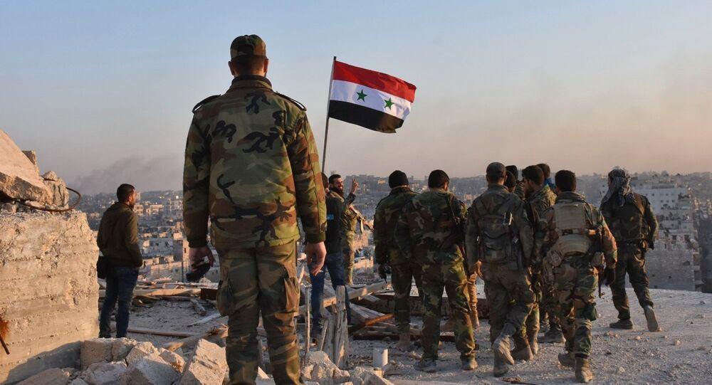 Forces gouvernementales syrienes. Image d'illustration